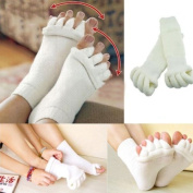 Massage socks Comfort Foot Toes Alignment Socks Stretch Tendon Relieve Pain Feet
