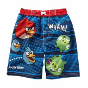 Angry Birds Baby-boys Swim Trunks Birds Vs Pigs Board Shorts