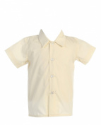 Lito Baby-boys Short Sleeved Dress Shirt