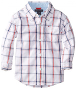 Tommy Hilfiger Baby-Boys Infant Samuel Plaid Shirt