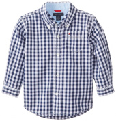 Tommy Hilfiger Baby-Boys Newborn Long Sleeve Baxter Shirt