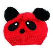 Susen 1pc Fashion Cute Baby Kids Girls Boys Stretchy Warm Winter Panda Cap Hat Beanie