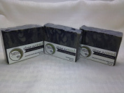 Hightland Soapworks Clean As Mud 130ml Unscented Handcrafted Artisan Soap - Made with Black Rock Mud