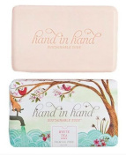 Hand in Hand White Tea Bar Soap