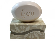 "Personalised Scented Soap - Soap Sentiments - Luxury Single Bar Box - Personalised with ""You"""