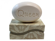 "Personalised Scented Soap - Soap Sentiments - Luxury Single Bar Box - Personalised with ""Queen"""