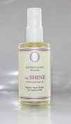 Jeffrey James Botanicals - THE SHINE - All Natural Hair Oil - Certified Organic ARGAN OIL Hair Oil - Certified Organic Argan Oil - Certified Organic Golden Jojoba Oil - Cold Pressed Grapeseed Oil - Daily Leave In - Irresistible Shine -Visibly Smooth - ..