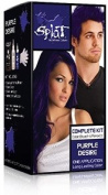 Splat Rebellious Colours Hair Colouring Complete Kit Purple Desire
