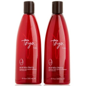 Taya Acerola Cherry Shampoo and Conditioner Duo for Coloured Hair