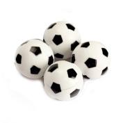 TOOGOO(R) 4pcs 32mm Plastic Soccer Table Foosball Ball Football Fussball