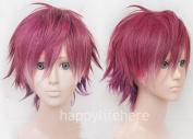 Diabolik Lovers Sakamaki Ayato Short Cosplay Anime Hair Wig + Free Wig Cap