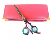 Professional Hairdressing Scissors Hair Cutting Shears Barber Salon Styling Scissors Set 13cm Japanese Steel with Case Razor Edged