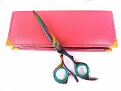Professional Hairdressing Scissors Hair Cutting Shears Barber Salon Styling Scissors Set 13cm Japanese Steel with Case Razor Edged