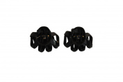 Black Karina French Couture Claw Clips - Great Hair Accessory