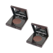 Eye Liner Duo Pack - Mahogany Brown, 2x1.4g/0.05oz