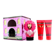 Minajesty Coffret : Eau De Parfum Spray 100ml/3.4oz + Body Lotion 100ml/3.4oz + Shower Gel 100ml/3.4oz, 3pcs