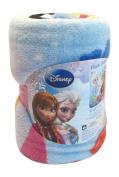 Disney Frozen Anna and Elsa Castle Plush Throw Blanket