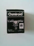 Osmiroid 19671 Calligraphy Ink Black Water Soluble 28 ml 0.95 fl. oz