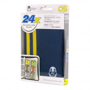 24X DS Game Cartidge Carrying Case (Blue/Yellow) for Nintendo DS and 3Ds Cards.