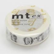 mt Masking Tape - mt ex / Number & Sign R Black