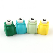 Mini Edger Hole Puncher Scrapbook Card Craft Machine Paper Punch Art Cutter Footprint