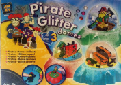 Pirate Glitter Domes
