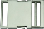 Springfield Leather Company's 3.8cm Nickel Plate Side Release Buckle