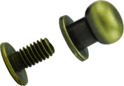 Springfield Leather Company's Solid Brass Button Studs