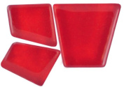 Mosaic Mercantile Mosaic Merc Crafter's Solid Tile, 0.5kg, Red
