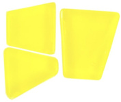 Mosaic Mercantile Mosaic Merc Crafter's Solid Tile, 0.2kg, Yellow