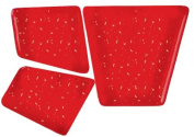 Mosaic Mercantile Mosaic Merc Crafter's Solid Tile, 0.5kg, Dark Red