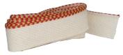 Bookbinders Workshop Headbands - 100% Medium Cotton - Red/Gold