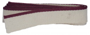 Bookbinders Workshop Headbands - 100% Medium Cotton - Solid Burgundy