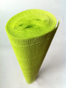 Italian Crepe Paper roll 180 gramme - 558 LIMELIGHT