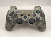 Standard Camo PS3 Modded Controller Mod Rapid Fire w/ Dropshot, Quick Reload, Jitter, Dual Rapid Fire, 2-Way Adjustable Burst, Zombies Auto-Aim