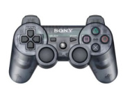Playstation 3 Dualshock 3 Wireless Controller (Slate Grey) (Slate Grey)- WMart Exclusive Slate Grey Clear See Through Transparent Colour.