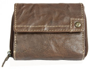 Women's Exclusive Compact Genuine Leather Wallet Green Valley