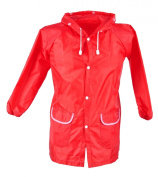 Cute and Funny Red Strawberry Rain Coat for Children