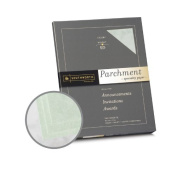 Southworth Specialty Parchment Celery Paper - 8 1/2 x 11 in 11kg Bond Parchment 100 per Package