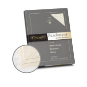 Southworth Specialty Parchment Ivory Paper - 8 1/2 x 11 in 29kg Bond Parchment 100 per Package