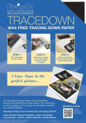 Paperweave Tracedown Paper Pack - A3 Assorted 5 Sheets