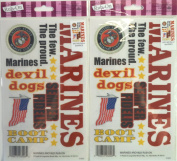 United States Marines Royal Langnickel Rub On Transfer, Pack of (2).