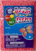 Squishy Foam ~ Modelling Beads ~ Pink ~ Mould It! Shape It!