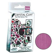 50 Grammes Crystal Clay Two Part Epoxy Mix - Fuchsia