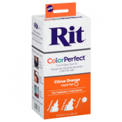 Rit Colour Perfect Fabric Dye, Citrus Orange