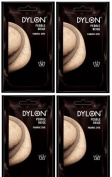 Dylon 4 X Sachets Fabric Dye Hand Use Pebble Beige