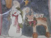 Ragamuffins Iron-on Transfer, Reindeer Parade Iron-on