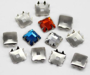 12X12MM SQUARE Tiffany Settings 36/CNT - 36 Pieces