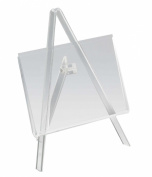 Displays2go Clear Acrylic Easel and Frameless Picture Holder for 13cm by 8.9cm Prints, Set of 10