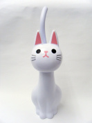 NEW Toilet Brush Cat White From Japan
